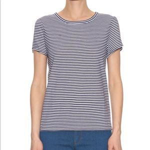 """A.P.C. """"Theo"""" T-Shirt in Navy/White - Size M (NWT)"""